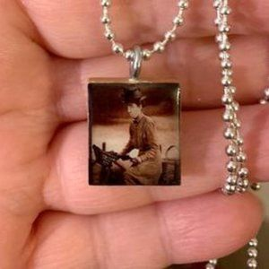 Wicked Witch Of The West Scrabble Tile Necklace